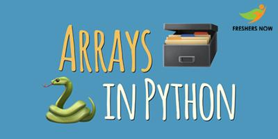 Python Arrays