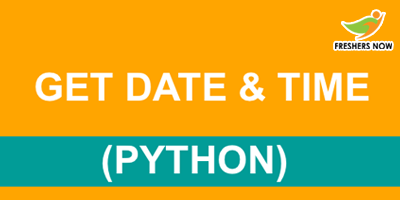 Python Date and Time