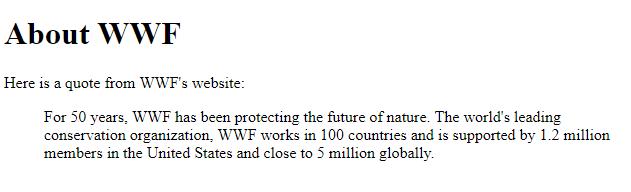 HTML cite attribute blockquote