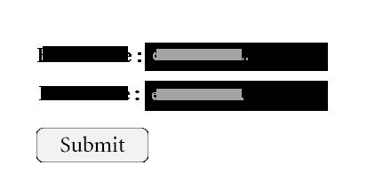 HTML 5 <input> Tag Output