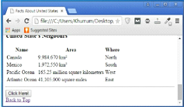 Example of Adding Information on Same Page Output