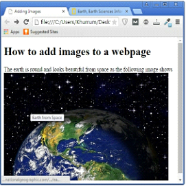 Images Clickable ExampleOutput