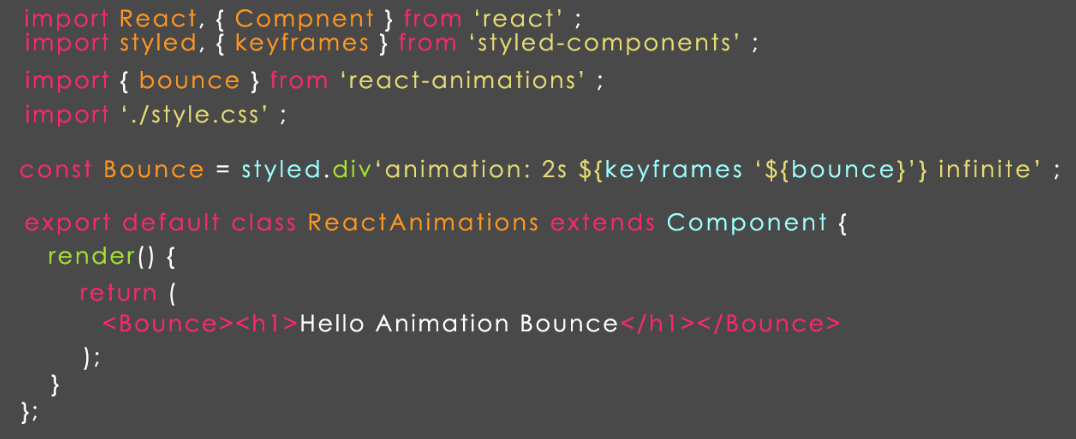 react js animations