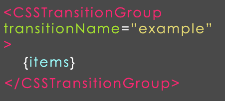 react js transisition group example1