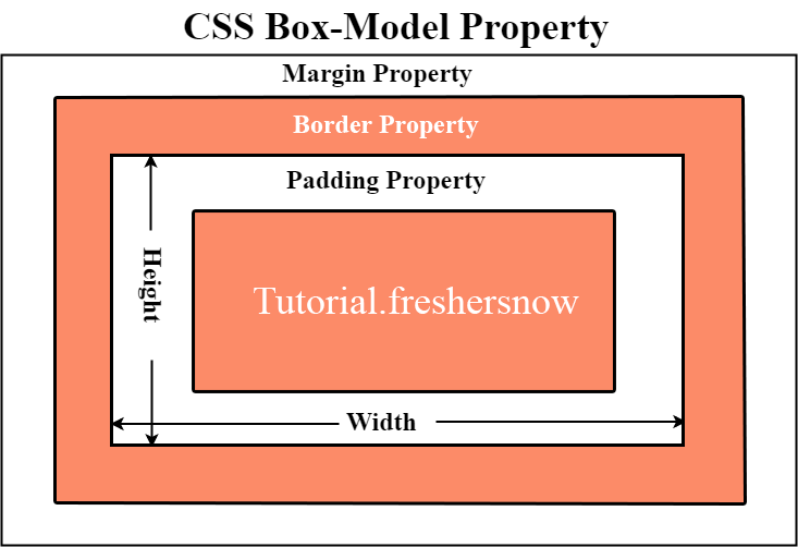 css box-model block diagram