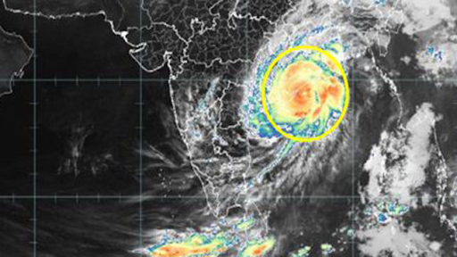 Fani Cyclone Forecast Using Big Data