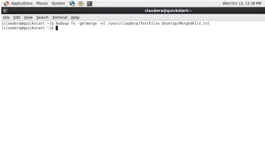 Hadoop getmerge Command
